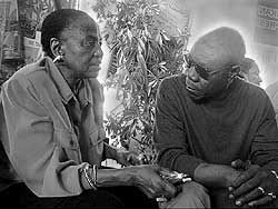 Miriam Makeba and Manu Dibango