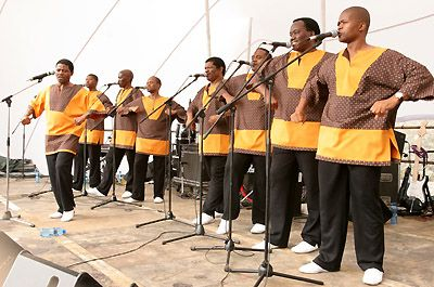 Ladysmith Black Mambazo © S.Gordon 2005