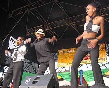 Mafikizolo performing on Youth Day, Cape Town
