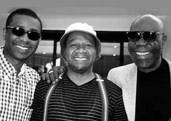 Youssou Ndour, Papa Wemba and Manu Dibango - African artists established in a global market.
